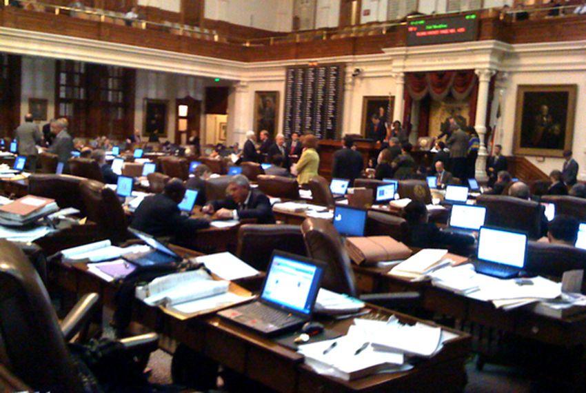 Photo Texas Legislature House Floor