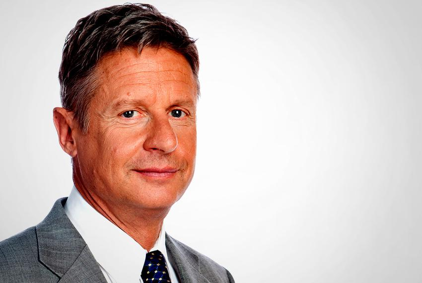Governor Gary Johnson, Libertarian Candidate for President