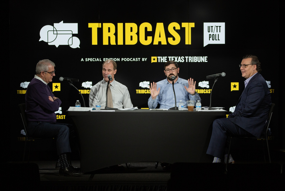 TribCast, special edition: Our pollsters analyze the latest UT/TT Poll on primary races and issues in Texas