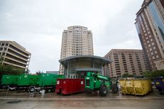 Harris County's jury assembly building was damaged so severely during Hurricane Harvey that officials say it may not even be repaired.