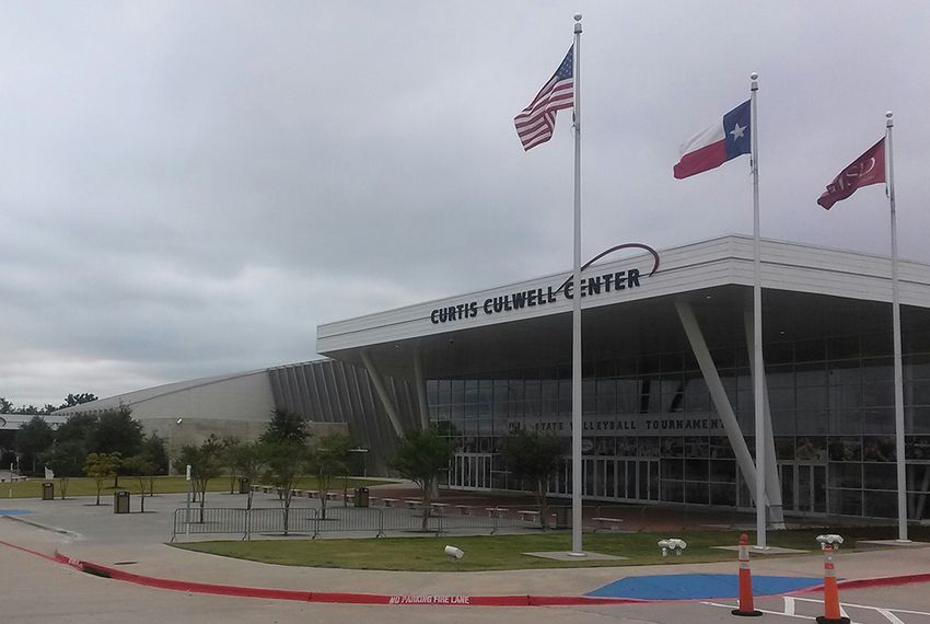 The Curtis Culwell Convention Center in Garland, Texas.