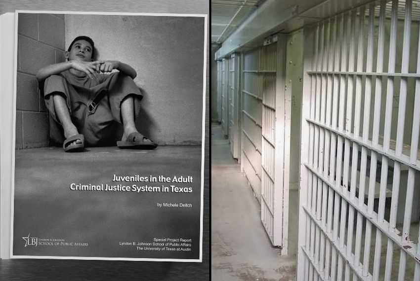 Juveniles in the Adult Criminal Justice System report by Michele Deitch