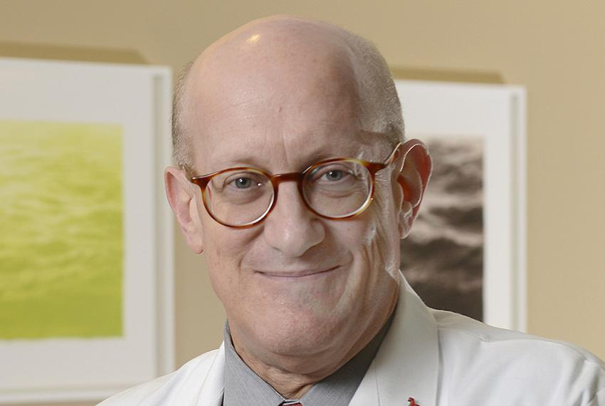 Dr. Bruce Meyer, executive vice president for Health System Affairs and professor of Obstetrics and Gynecology at UT Southwe…