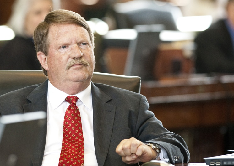 Sen. Mike Jackson R-La Porte on last regular day of the 82nd legislative session May 30th, 2011