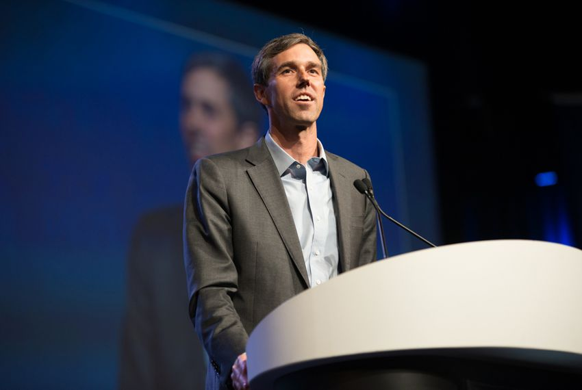 U.S. Rep. Beto O'Rourke speaks at the Texas Democratic Party convention in Fort Worth on June 23, 2018.