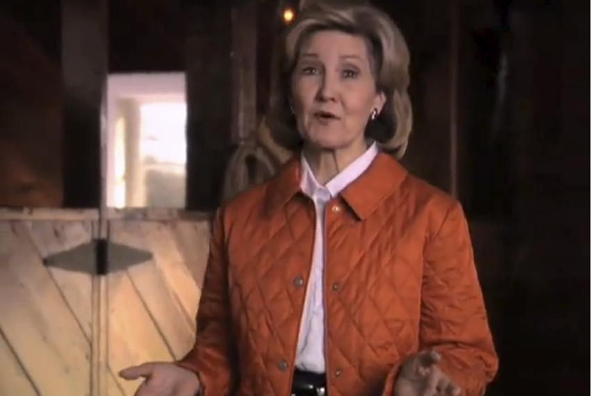 "Screengrab from Hutchison's TV spot, ""Honest"""