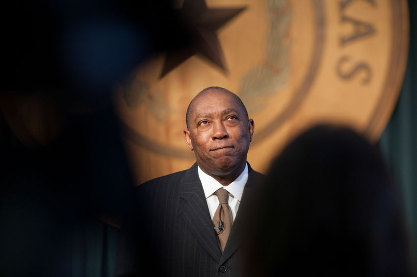 State Rep. Sylvester Turner, D-Houston, at the state Capitol on May 27, 2013.