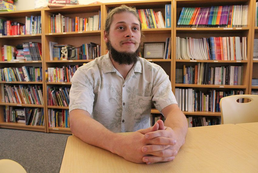 Gage Kemp spent four years homeless when he was a teen. He now is an advocate for other homeless youth.