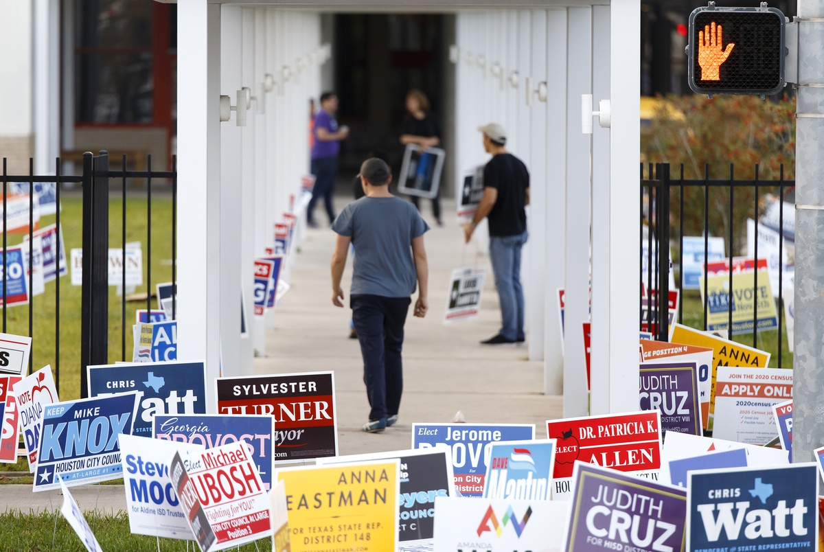 Texas 2019 election: See how voter turnout compares