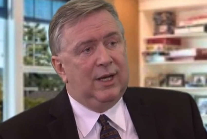 YouTube screenshot of U.S. Rep. Steve Stockman, R-Friendswood, from a Western Center for Journalism interview on Feb. 2, 2...