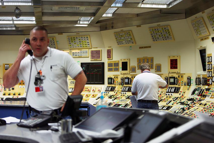 Radio Action Command Center at STP Nuclear Operating Company which provides power to CPS San Antonio, Austin Energy, and NRG…
