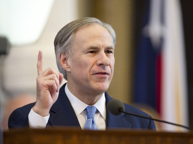 Gov. Greg Abbott annouces several emergency legislative items in his first State of the State speech on Feb. 17, 2015.