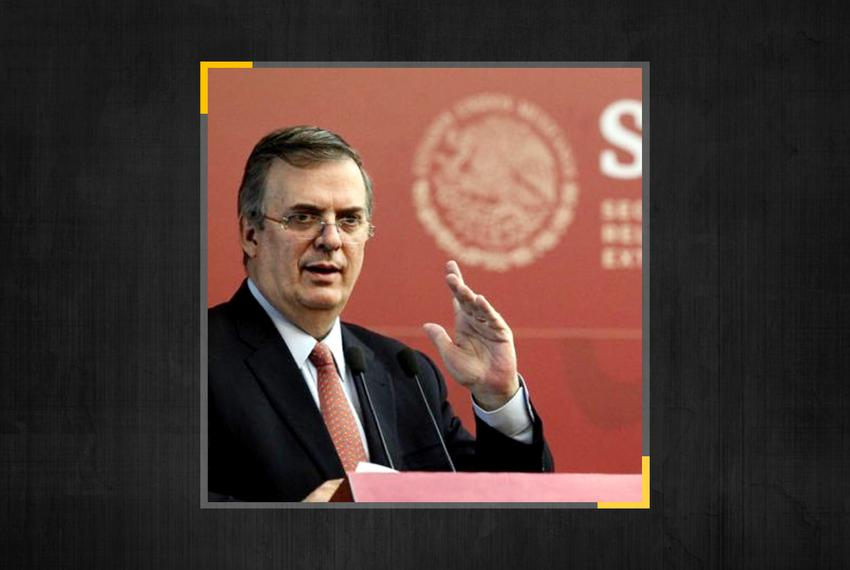 Mexican Foreign Secretary Marcelo Ebrard.