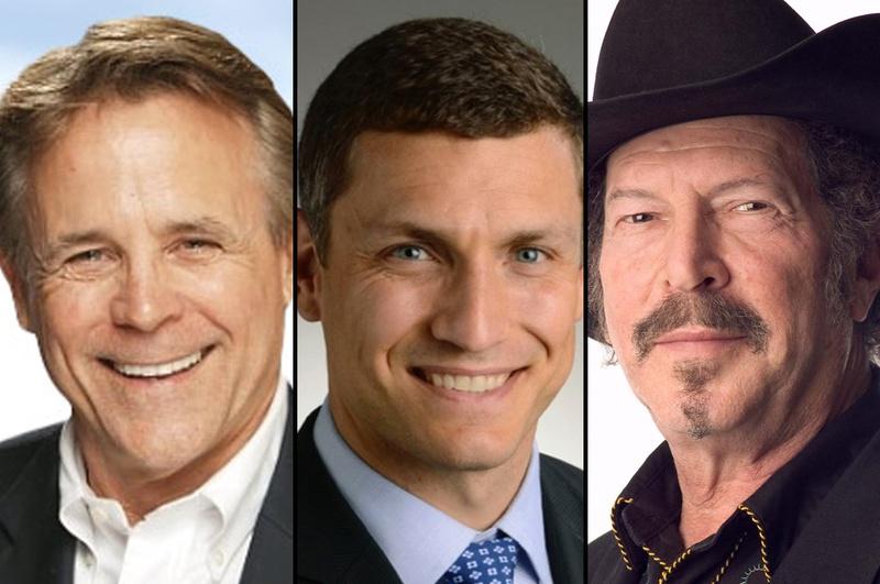 Joe Cotten, Malachi Boyuls, and Kinky Friedman.