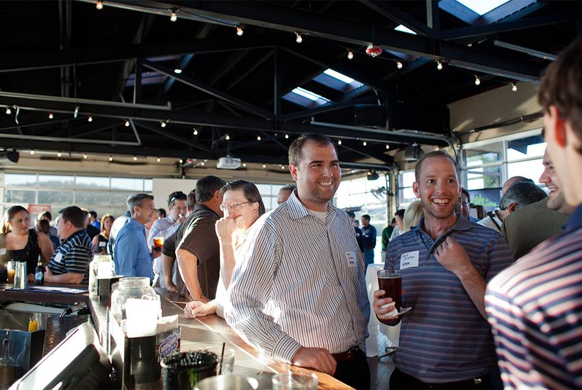 About 175 people attended a happy hour held by the Austin Petroleum Exploration Society on Nov. 1. Austin is increasingly be…