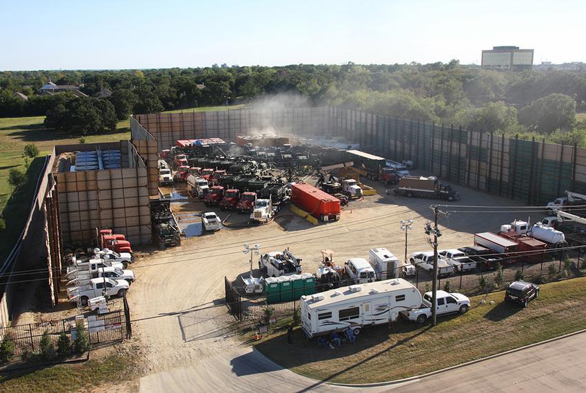 Fracking in Fort Worth, Sept. 27, 2013