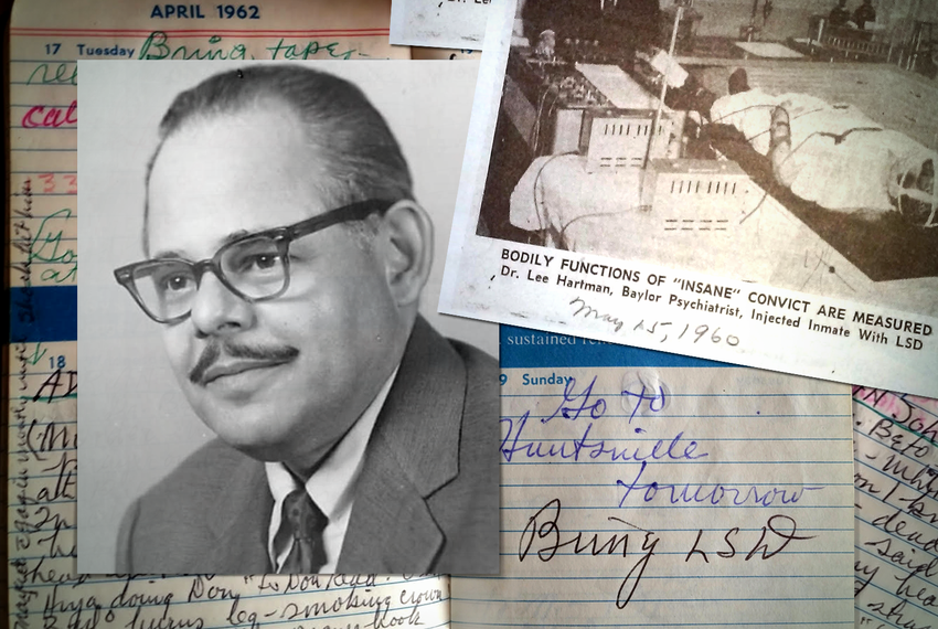 Photos, newspaper clippings and journal entries from Dr. Lee Hartman helped his grandson, Ben Hartman, piece together the de…