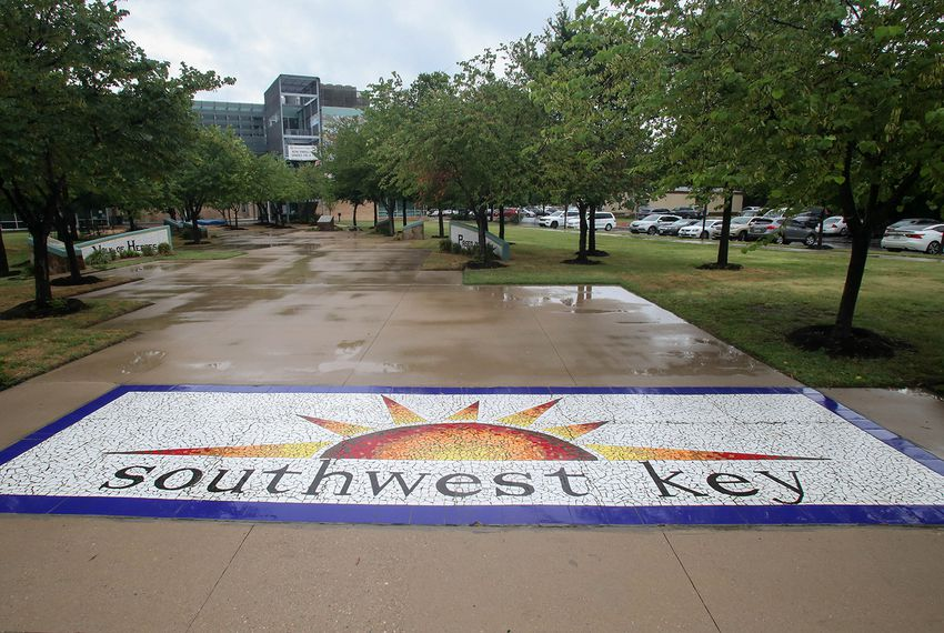Southwest Key headquarters in Austin on June 19, 2018.