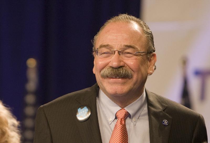 Texas Democrats elected their first Hispanic party chairman, Gilberto Hinojosa, on June 9, 2012.