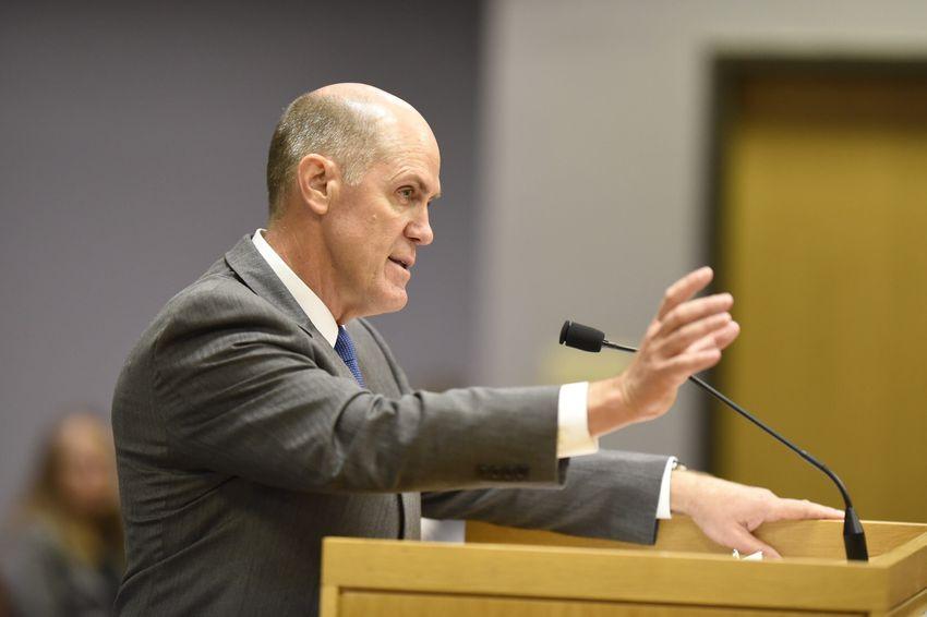 John Stevens of Texas Farm Bureau Insurance testified at TDI Hearing on Insurance Arbitration Proposal on Wednesday, July 6, 2016.