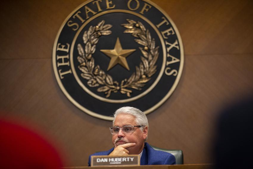State Rep. Dan Huberty, R-Houston, listens to testimonies on the Texas Education Agency's uses of House Bill 3 and House Bil…