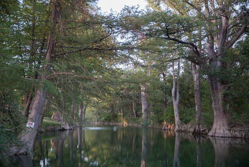 Cypress Creek in downtown Wimberley