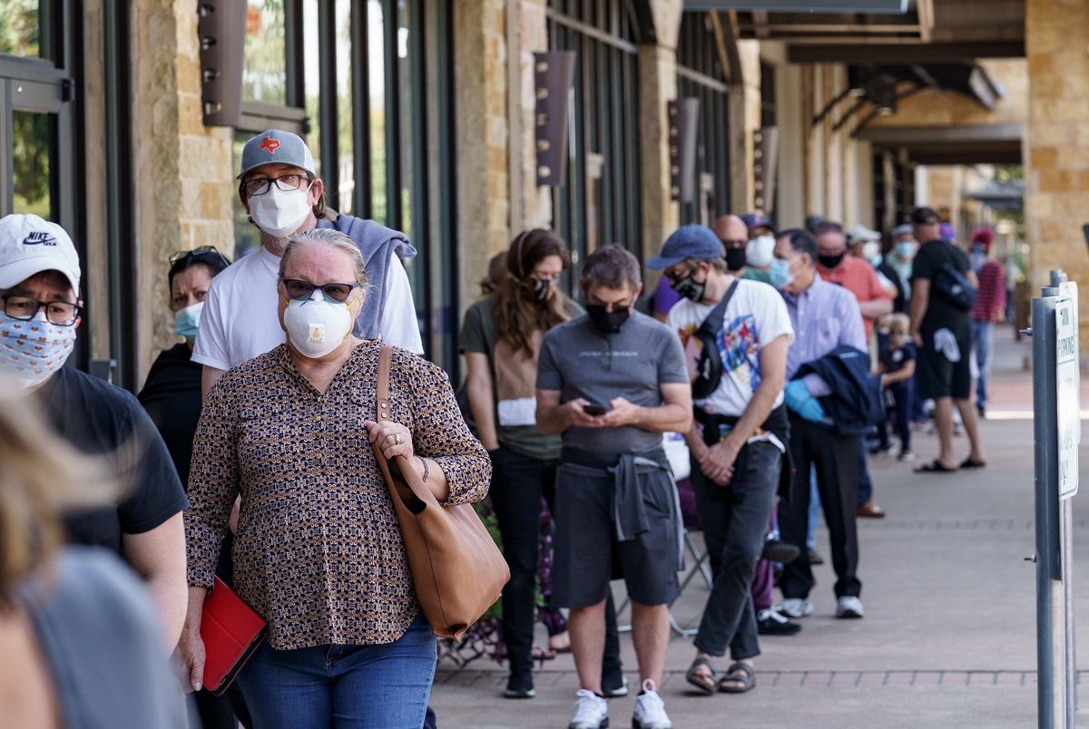 Texas has a record number of new voters. Where they are shows how the state has become more competitive.