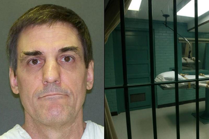 Death row inmate Scott Panetti.