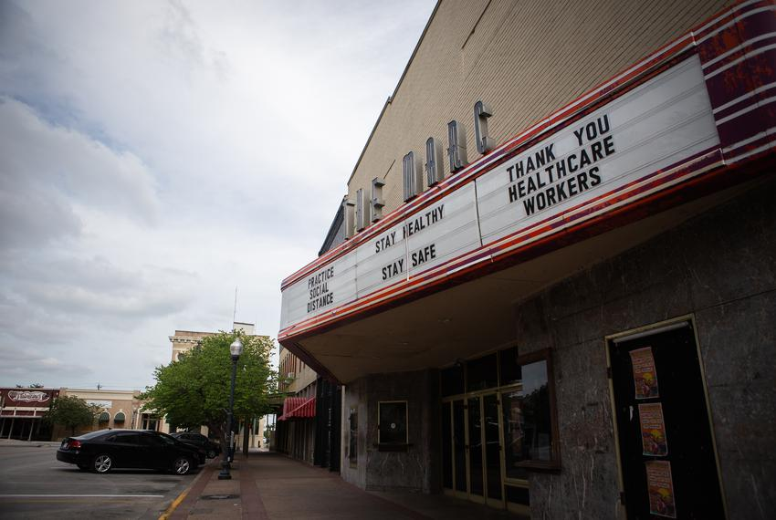 The Marc, a nightclub and venue in San Marcos, has closed due to the coronavirus pandemic. April 10, 2020.