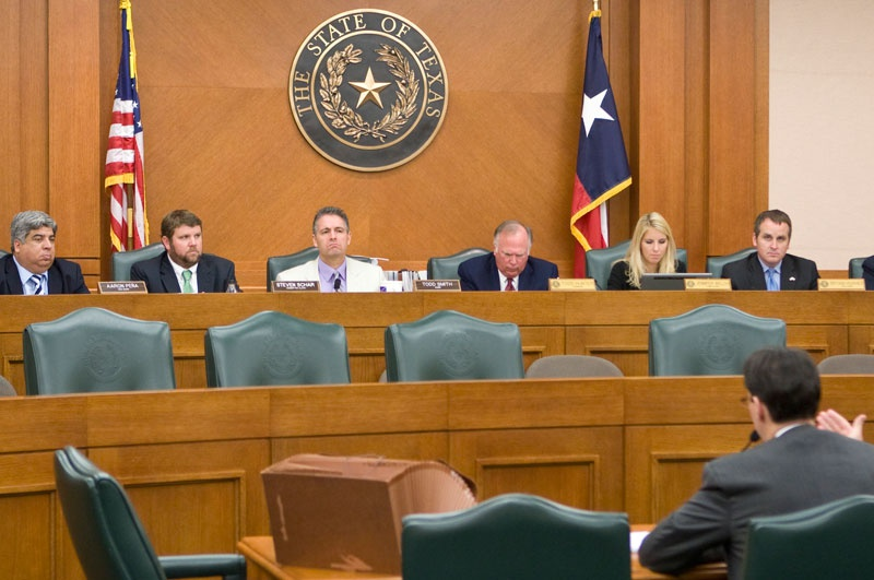 A joint meeting between the House Elections and Judiciary committees on Aug. 26, 2010