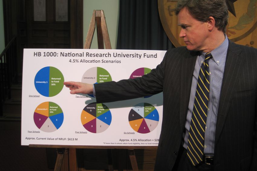 State Rep. Dan Branch, R-Dallas, explains HB 1000.