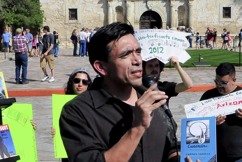 Tony Diaz wrote the only Mexican-American studies textbook submitted to the Texas State Board of Education's request for e...