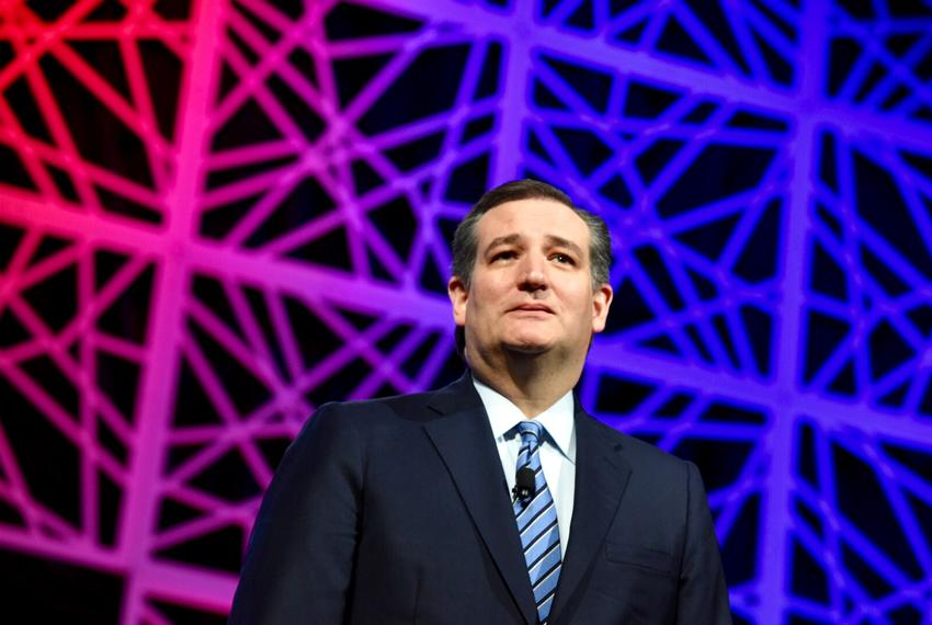 Ted Cruz Speaking at GOP Convention in Dallas, May 2016