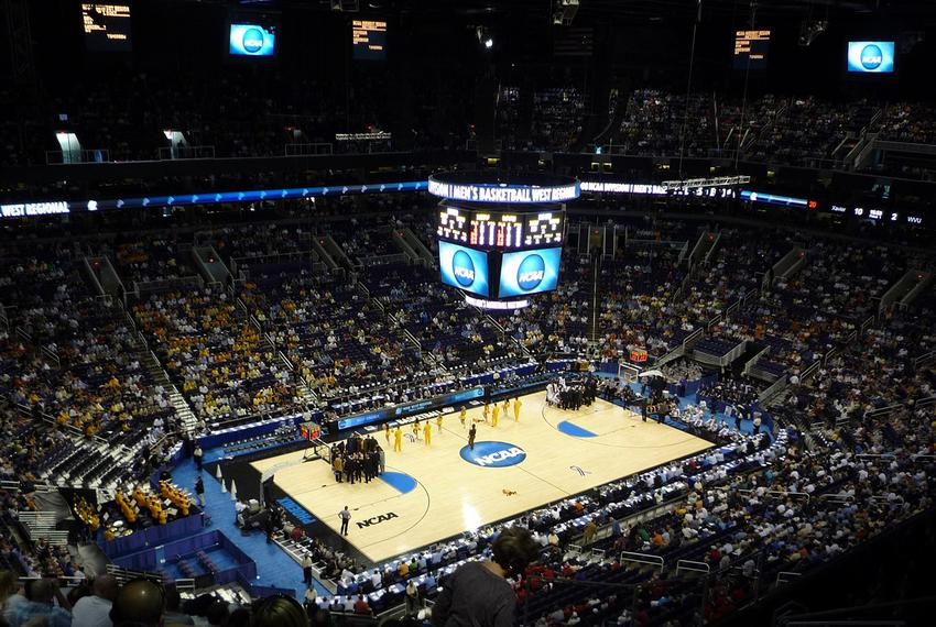 The 2008 NCAA Men's Division basketball tournament at the U.S. Airways Center in Phoenix, Arizona, on March 27, 2008.