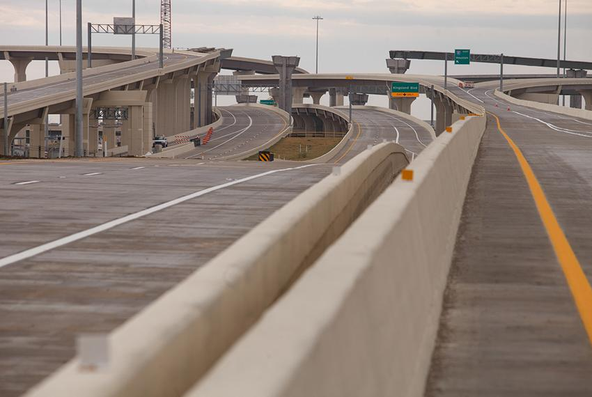 New section opening  of the Grand Parkway in Katy, Texas, Saturday, December 14, 2013.