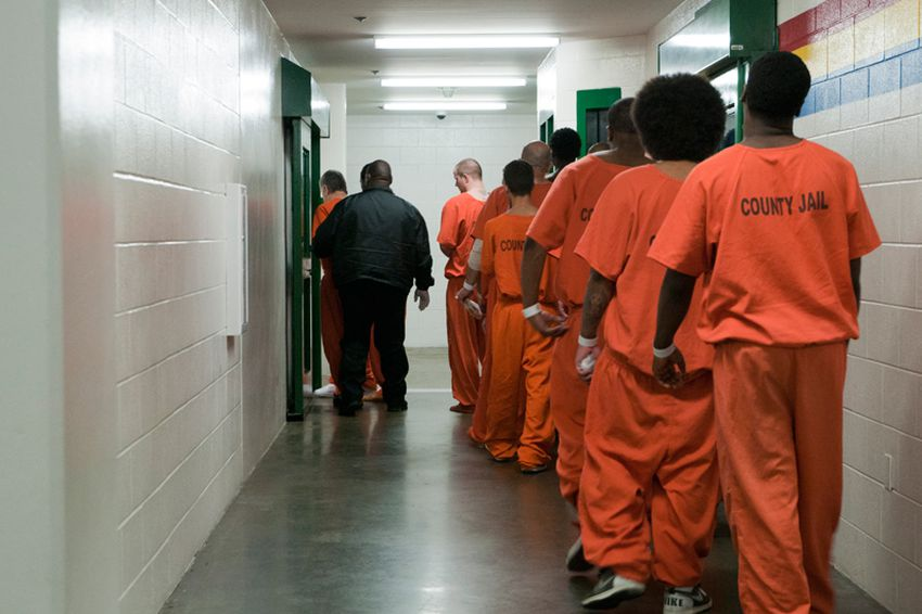 Nearly one-quarter of the 10,000 inmates at the Harris County Jail are on psychotropic medications.