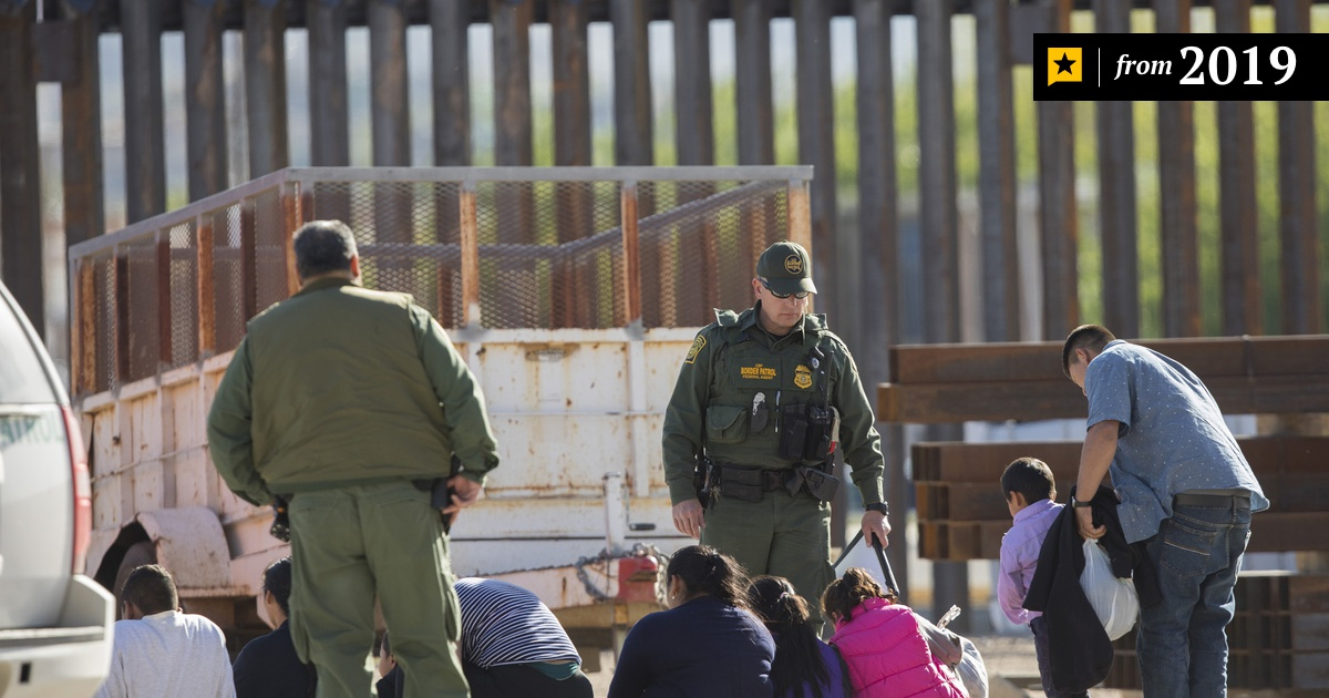 Arrests along U.S.-Mexico border are falling, preliminary figures show