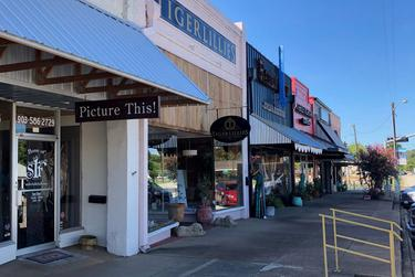 Businesses remain closed in downtown Jacksonville, but Gov. Greg Abbott's new directive will allow some to re-open starting Friday.