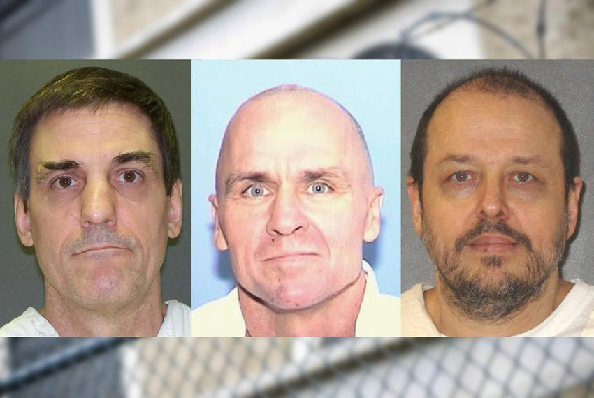 Scott Panetti, Randall Mays and Robert Roberson