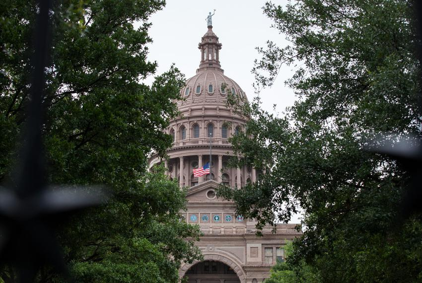 The Texas Capitol, May 15, 2015.