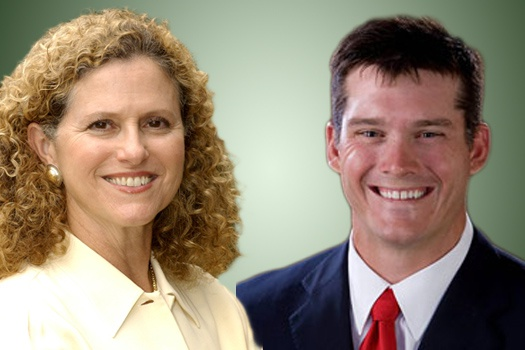 State Rep. Donna Howard,  D-Austin,  and her GOP challenger, Dan Neil.