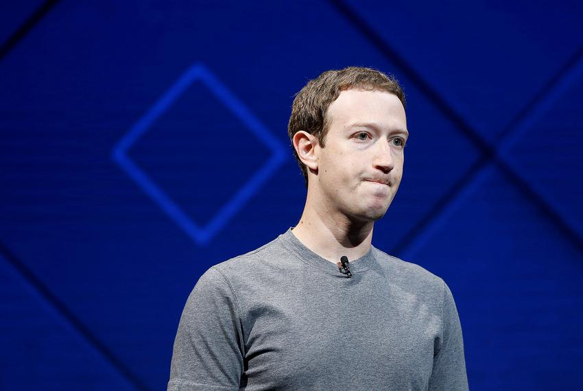 Facebook Founder and CEO Mark Zuckerberg speaks on stage during the annual Facebook F8 developers conference in San Jose, ...