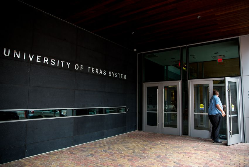 The University of Texas System is cutting jobs from a central facilities and construction office.