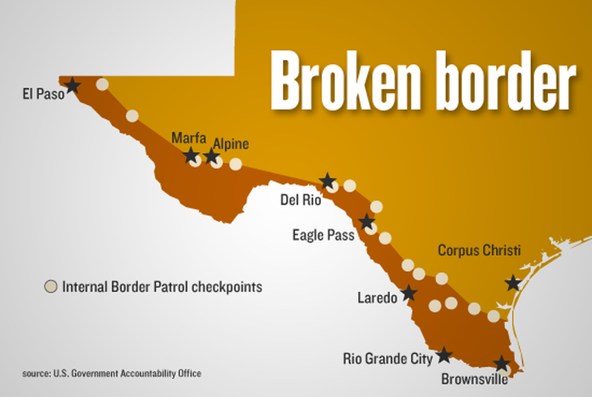 Border Checkpoints Limit Care for Kids | The Texas Tribune