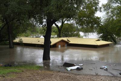 Homes in the Marble Falls area witnessed historic flooding after record rainfall in Llano and Burnet counties.
