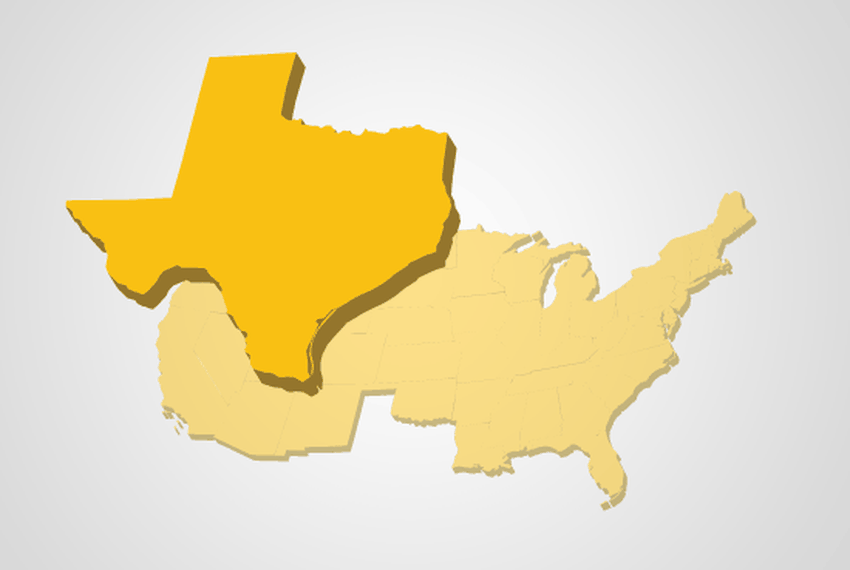 Can Texas Legally Secede From The United States The Texas Tribune - Us map dates of secession