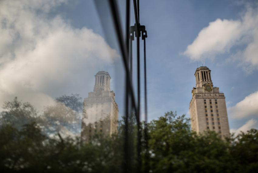 The University of Texas Tower, Austin.