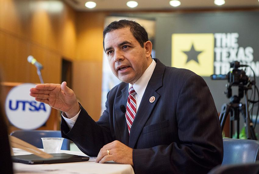 U.S. Rep. Henry Cuellar, D-Laredo, at a Texas Tribune Event on UT San Antonio Campus, Sept. 24, 2014.