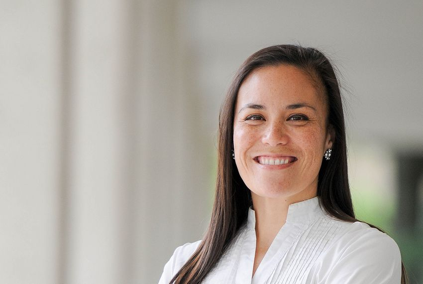 Gina Ortiz Jones is running against incumbent U.S. Rep. Will Hurd, R-Helotes.