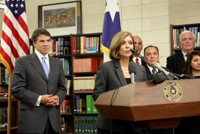 Texas Supreme Court Justice Eva Guzman